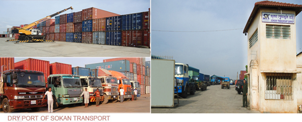 DRY PORT OF SOKAN TRANSPORT