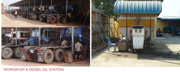 WORKSHOP & DESIEL OIL STATION